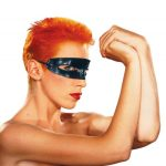 Eurythmics Touch album sleeve photograph